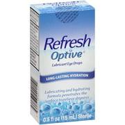 Refresh optive lubricant eye drops 0.5 fl. oz. box