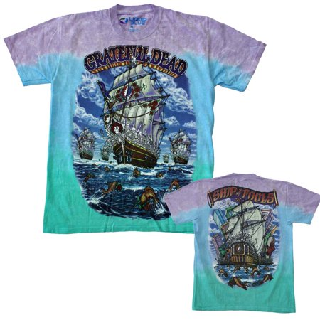 Grateful Dead Ship of Fools T-Shirt - LB-11330-S - Grateful Dead Birthday Cake