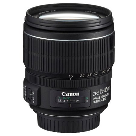 Canon EF-S 15-85mm F/3.5-5.6 IS USM Zoom Lens - 15mm to 85mm - f/3.5 to (Canon Zoom Lens Ef S 17 85mm)