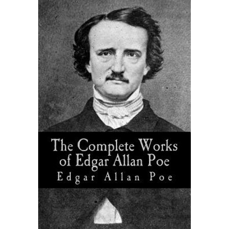 The Complete Works of Edgar Allan Poe (Paperback) - Edgar Allan Poe Halloween Poetry