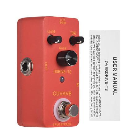 CUVAVE ODRIVE-TS Analog Overdrive Guitar Effect Pedal Zinc Alloy Shell True Bypass - image 5 de 6