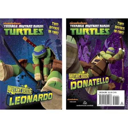 Mutant Origin Leonardo Donatello  Two Books In One