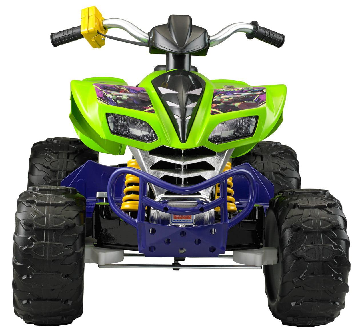 Wheels Age Mutant Ninja Turtles Kawasaki Kfx 12 Volt Ride On