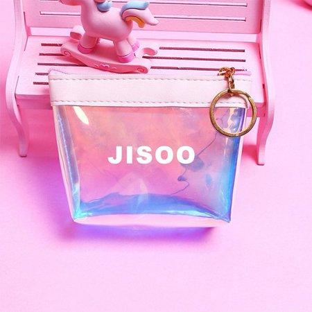KABOER BLACK PINK Member Candy Laser Coin Purse Coin Bag](Candy Bag Purses)