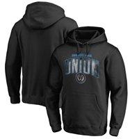 Philadelphia Union Fanatics Branded Arch Smoke Pullover Hoodie - Black