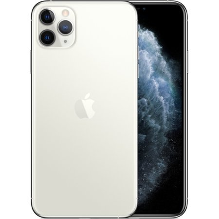 """Apple iPhone 11 Pro A2160 64 GB Smartphone, 5.8"""" OLED 2436 x 1125, Dual-core (2 Core) 2.65 GHz, 4 GB RAM, iOS 13, 4G, Silver"""