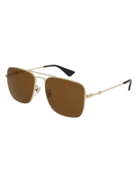 bb255e021be Product Image Gucci GG0108S Sunglass 55mm GOLD