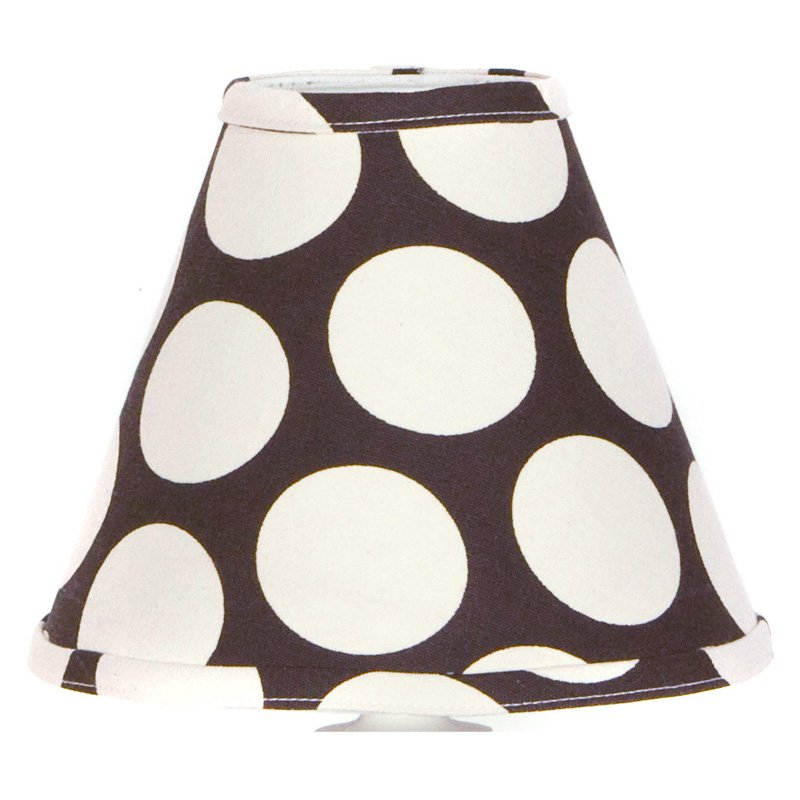 Cotton Tale Designs Raspberry Dot Lamp Shade