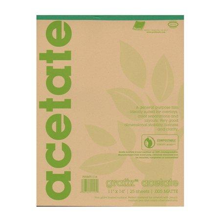 Grafix  Matte Acetate Film Pads (Medroxyprogesterone Acetate)