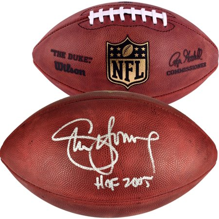 Steve Young Autographed Football - Steve Young San Francisco 49ers Autographed Wilson Pro Football with HOF 2005 Inscription - Fanatics Authentic Certified