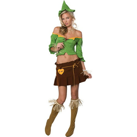 - Scarecrow Flirty Adult Halloween Costume