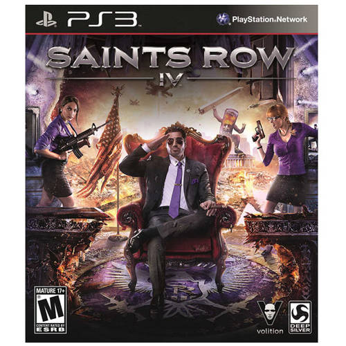 Saints Row 4 (PS3) - Pre-Owned