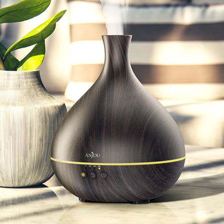 790 Diffuser (Anjou 500ml Oil Diffuser with Unique Patented Technology, All Day Scent with Just Single Fill of Essential Oil )