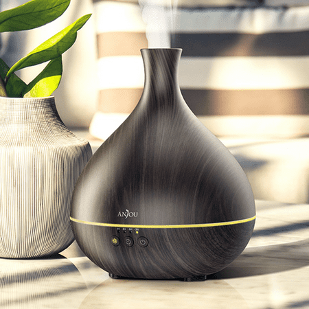 Anjou 500ml Oil Diffuser with Unique Patented Technology, All Day Scent with Just Single Fill of Essential Oil