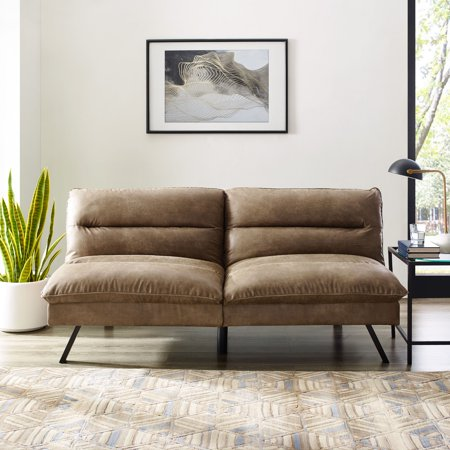 Manhattan Upholstered Convertible Sofa, Multiple Colors