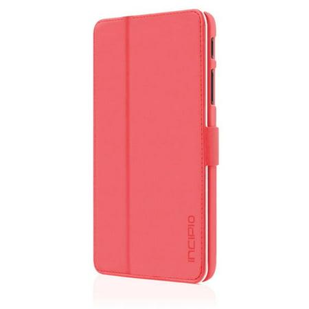 Incipio LG G Pad 7.0 LTE Lexington Folio Case Pink -