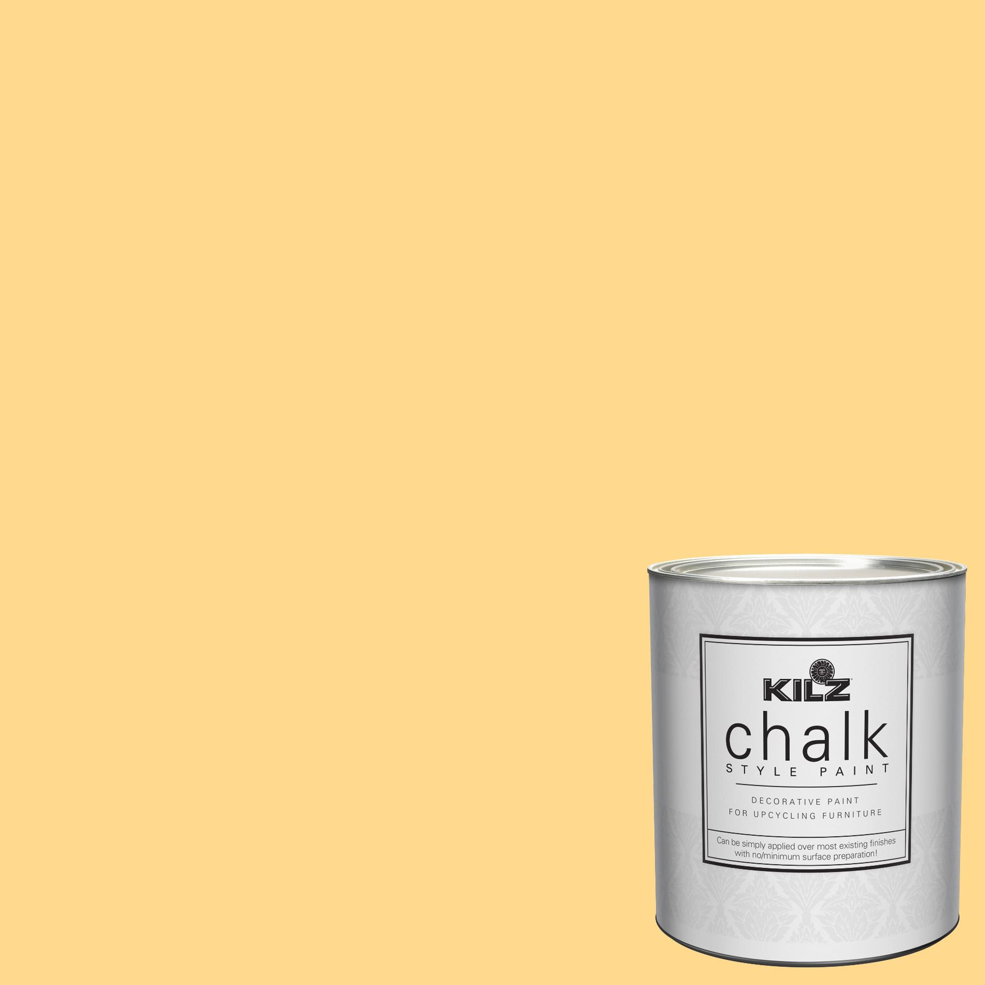 KILZ Chalk Style Decorative Paint, 1 quart by Masterchem Industries LLC