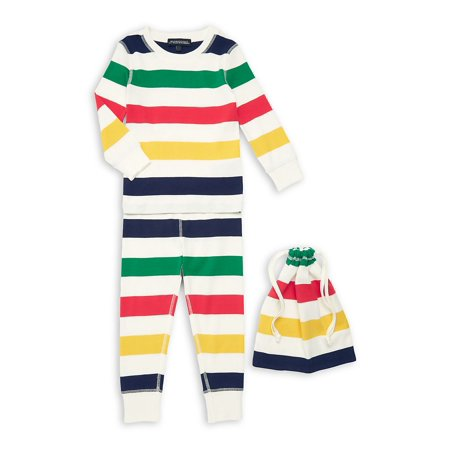 Kid's 2-Piece Multistripe Pajama Set](Lord And Taylor Boys)