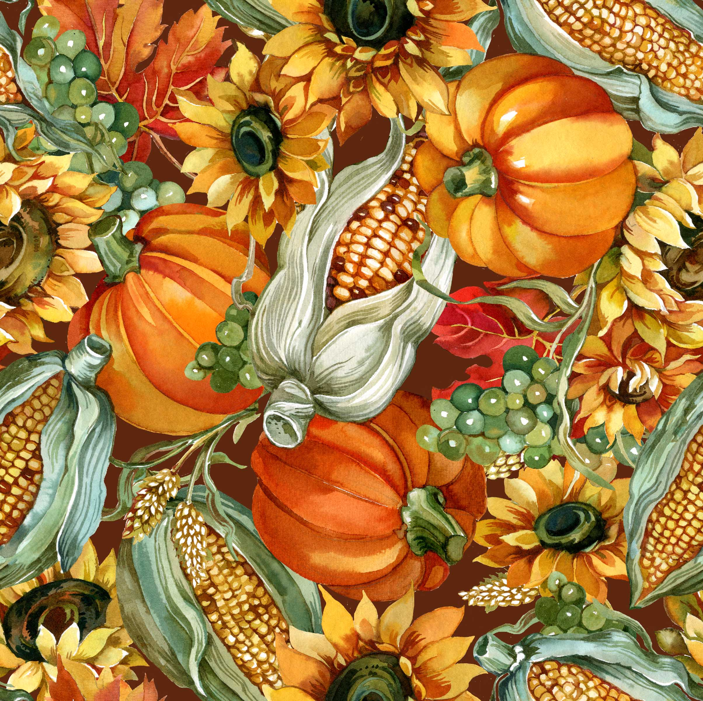 FABRIC EDITIONS, COTTON FABRIC, FAT QUARTER, 18X21, HARVEST GARDEN