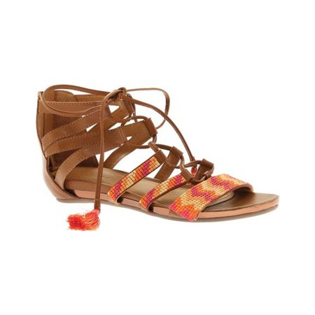 ea0df17616c Kenneth Cole - Women s Kenneth Cole Reaction Lost Look Lace Up Sandal -  Walmart.com