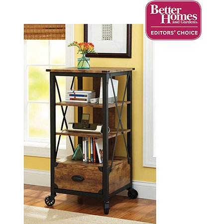 Better Homes and Gardens Rustic Country Tech Pier  Antiqued Black Pine  Finish. Better Homes and Gardens Rustic Country Tech Pier  Antiqued Black