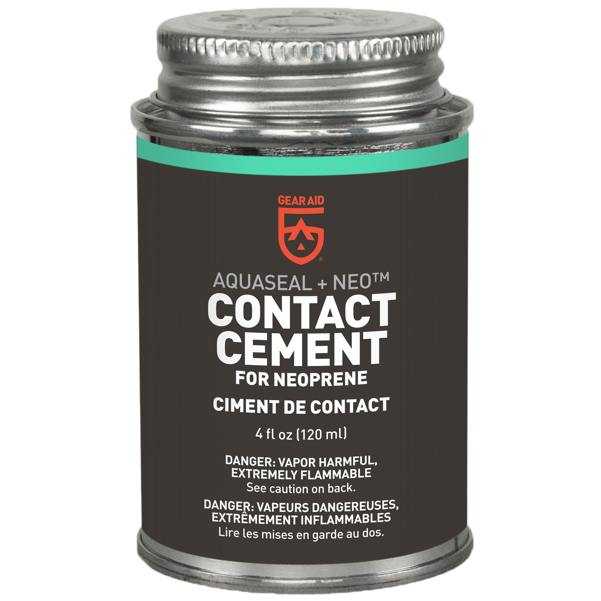 McNett Seal Cement for Wetsuits and other Neoprene Products  (Black) - 4 oz.