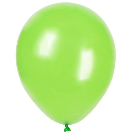 Latex Balloons Lime Green 12in 10ct Walmartcom