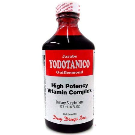 Yodotanico High Potency Vitamin Complex Iodine Dietary Supplement 6 fl