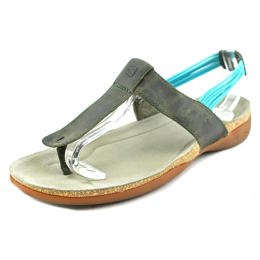 Keen Dauntless Open Toe Leather Thong Sandal by Keen