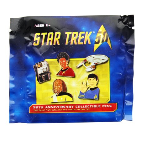 Star Trek Blind Packed Collectible Lapel Pin, Lot of (Star Lapel Pin)