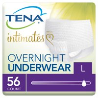 Tena Incontinence Underwear, Overnight, Large, 56 Ct