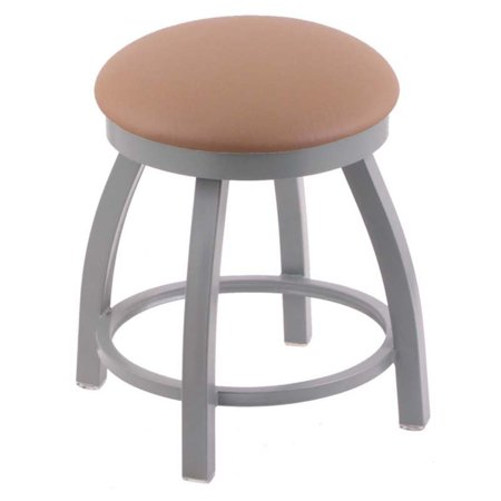 Holland Bar Stool Misha Backless Swivel Dining Stool with Faux Leather Seat