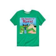 Pete The Cat Im Keepin It Rural Toddler - Toddler Short Sleeve Tee