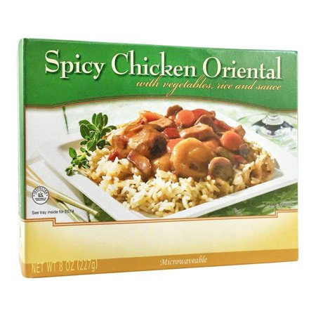 BariatricPal Microwavable Single Serve Protein Entree - Spicy Oriental Chicken - Halloween Food Entrees