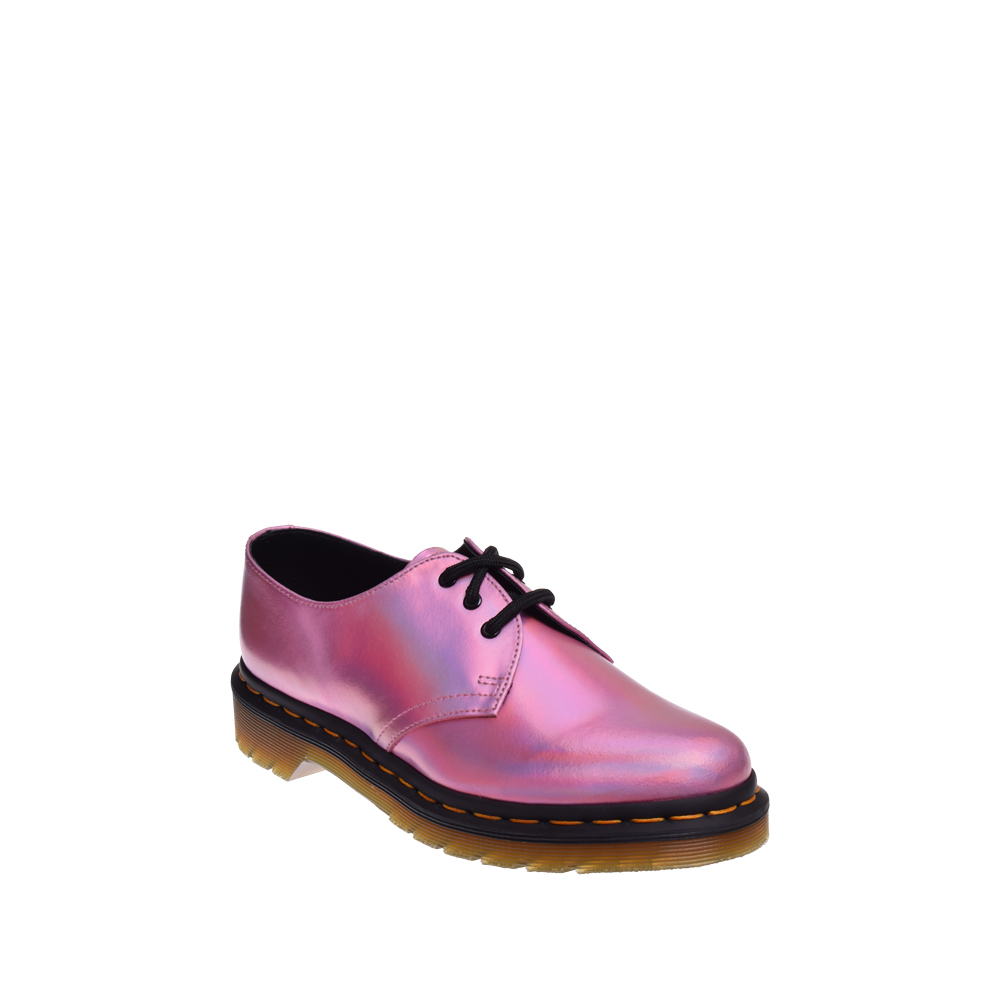 Dr. Martens 1460 IM Iced Reflective Metallic Leather Oxford Mallow Pink by