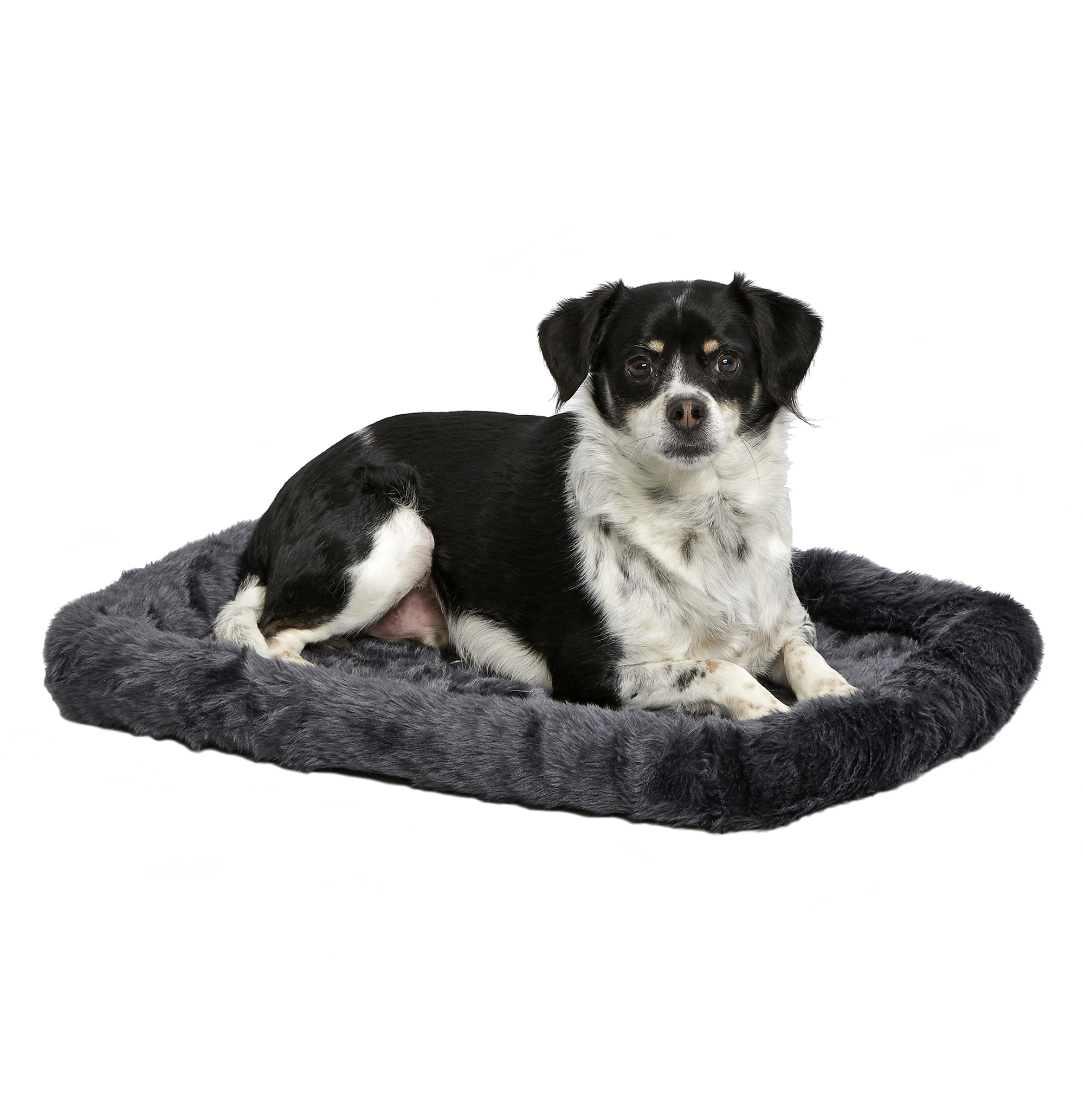 """Midwest Quiet Time Pet Bed, Small, 24"""", Gray"""