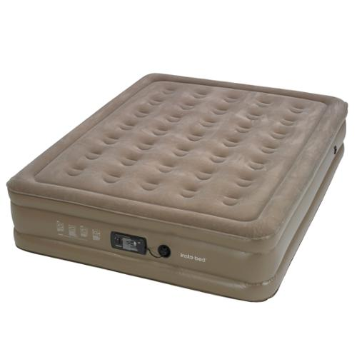 """InstaBed Full Raised 15"""" Air Bed Mattress with Insta III Built-In Air Pump"""