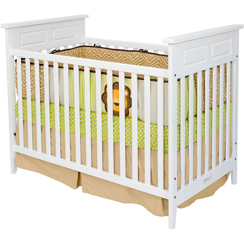 Child Craft - Logan 2-in-1 Convertible Fixed-Side Crib, Matte White