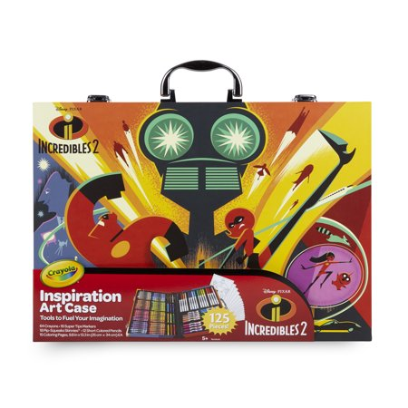 Crayola Inspiration Art Case, The Incredibles 2, Gift For Kids Ages - Art Kids