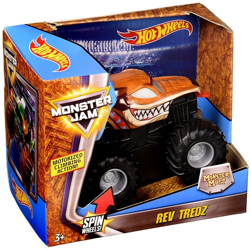 Hot Wheels Rev Tredz Monster Mutt Vehicle