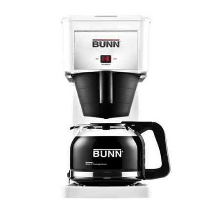 Bunn Commercial Iced Tea Maker - Bunn GRX Commercial Style Home Brewer White