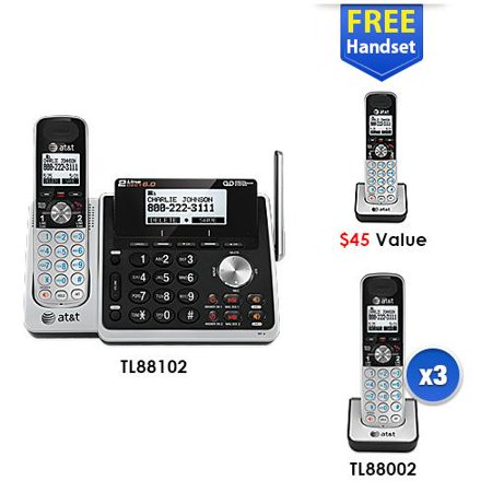 5 Handset Cordless Phone (2 Line) 5 Handset Cordless Phone (2 Line) by