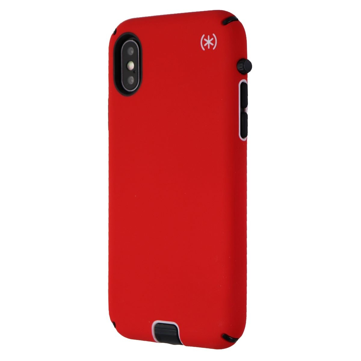 Speck Presidio Sport Series Case for Apple iPhone XS and X - Matte Red/Black