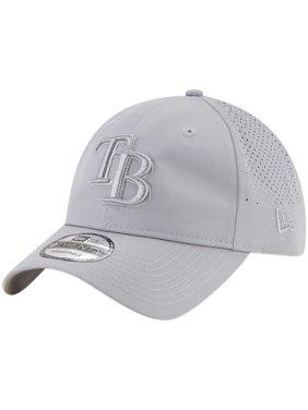 Product Image Tampa Bay Rays New Era Perforated Tone 9TWENTY Adjustable Hat  - Gray - OSFA a2700089610