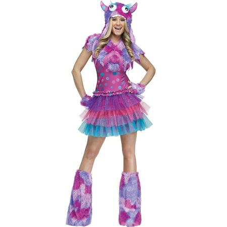 Polka Dot Monster Adult Costume - Sulley Monsters Inc Halloween Costume