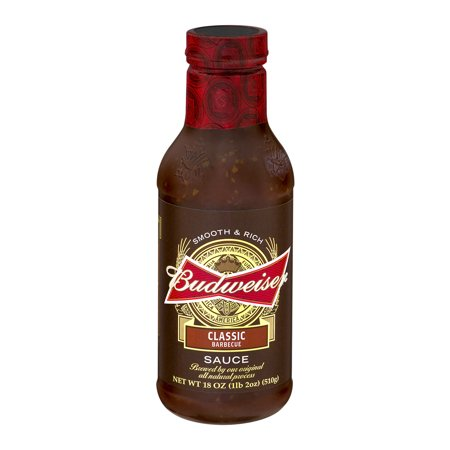 Budweiser Classic Barbecue Sauce, 18.0 OZ