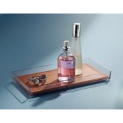 InterDesign Formbu Vanity Tray, Bamboo