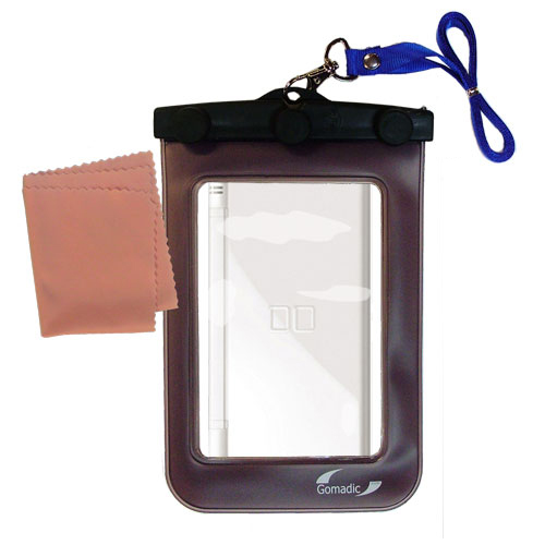 Gomadic Clean and Dry Waterproof Protective Case Suitablefor the Nintendo DS Lite / DSLite to use Underwater