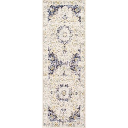 Nuloom 2' x 3' Verona Rug in Blue - image 2 of 6