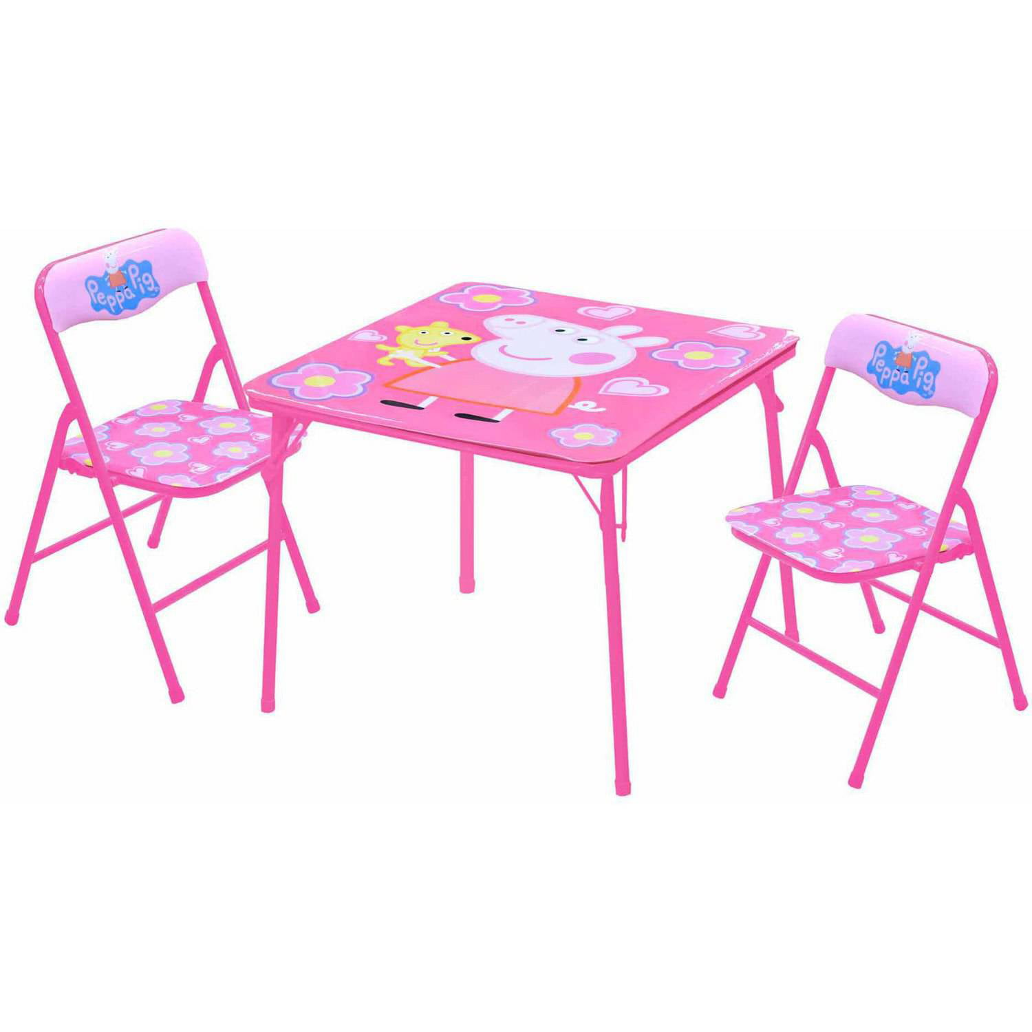 sc 1 st  Walmart & Peppa Pig Table and Chairs Set - Walmart.com